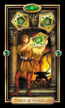 Y NghÄ©a Ngược Của La Bai 3 Of Pentacles Trong Tarot Diễn giải ngược của lá bài 6 of pentacles. thien tuệ